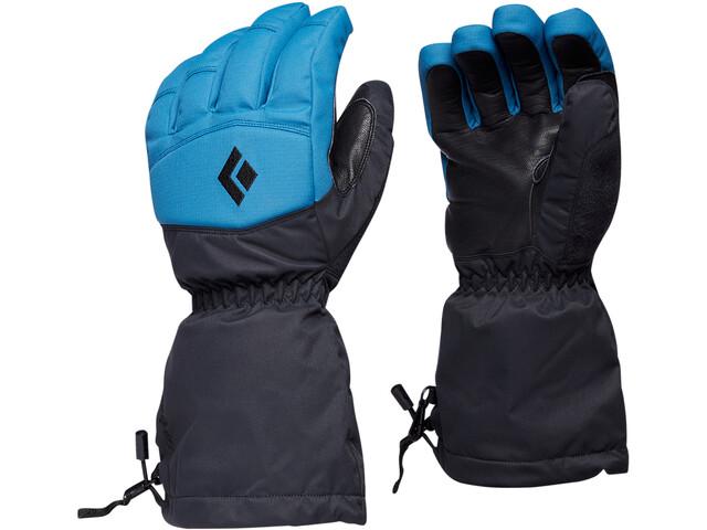 Black Diamond Recon Gloves, azul/negro